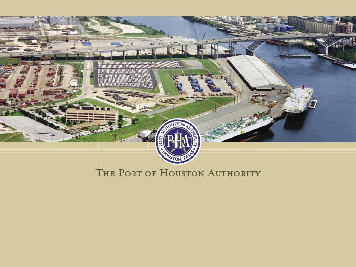Port Partnerships Strategic Opportunities for Gateway & Closer Market Ports to