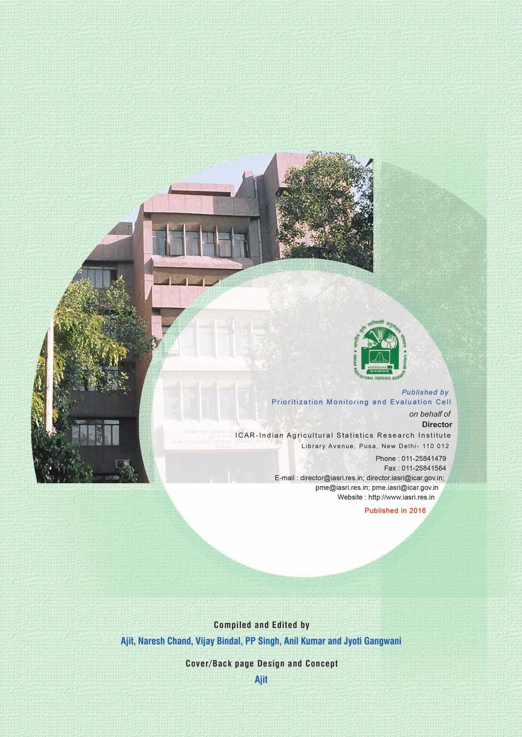 Annual report pdf 2 annual report icar indian agricultural statistics research institute library avenue pusa new delhi iso 90012008 certified institute isoiec isoiec fandeluxe Gallery