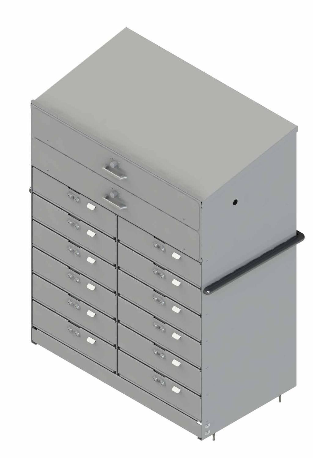 drawers at top of cabinet secure any valuables with lock. Large drawer dims: 35 W x 20 L x 5.