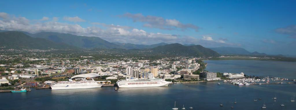 Cairns Shipping Development Project Revised Draft Environmental Impact Statement Fact Sheet July 2017 AT A GLANCE > An additional 70 cruise ships into Port of Cairns each year by 2031 > Project