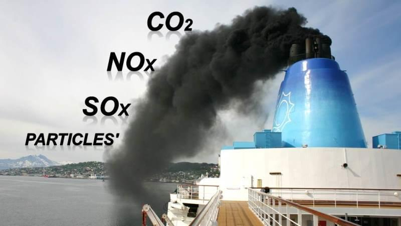 Emissions from the Shipping Industry An important part of the global anthropogenic emissions In 2007 about: o 15% in NO X o 9.4% in SO 2 o 2.7% in CO 2 The 2014 IMO study re-estimated CO 2 to 2.