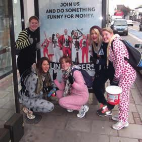 Some did a 12-hour sponsored walk for Comic Relief - wearing onesies! There are so many different careers at Sainsbury s. Did you know we employ our own beekeeper?