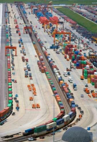 21ST CENTURY ECONOMIC ENGINE: THE INTEGRATED INTERMODAL CENTER» Integrates warehouses with rail terminals» Locates all supply chain components in ONE CAMPUS» Requirements: Long haul rail service