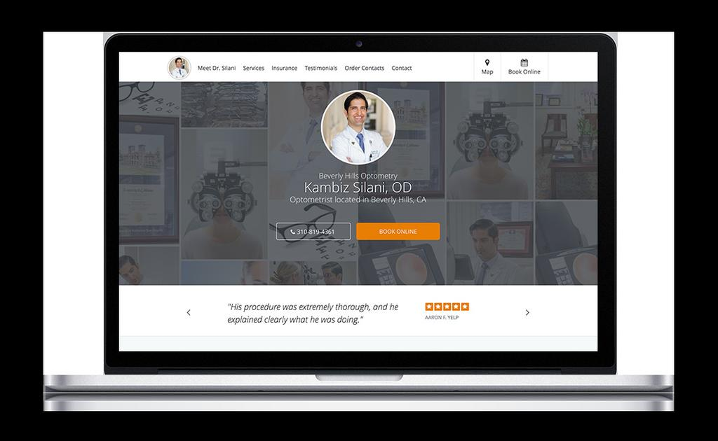 The cost of a website varies greatly, so get multiple quotes. Ideally, your vendor will have experience in the medical sector and be comfortable designing mobile sites as well as full websites.